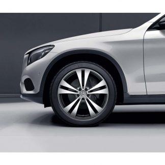 20 Zoll Alufelge, Mercedes GLC, 5-Doppelspeichen-Design, glanzgedreht
