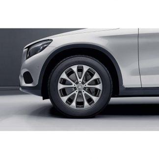 18 Zoll Mercedes-Benz Sommerkompletträder Satz, GLC 5-Doppelspeichen Design