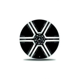 19 Zoll Alufelge, Mercedes GLC, 6-Speichen Design, glanzgedreht