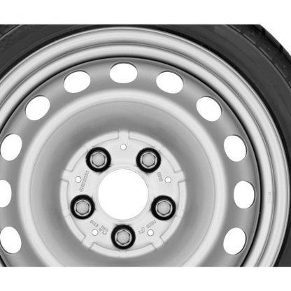 Mercedes-Benz Sommerkompletträder Satz, 15 Zoll, Citan, Stahlrad