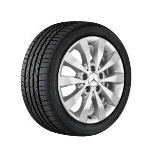 Mercedes-Benz Winterkompletträder Satz, Aktion, 10-Speichen Design, vanadiumsilber, V-Klasse, Vito, 16 Zoll