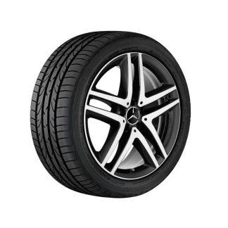 Mercedes-Benz 19 Zoll Alufelge, Vito, V-Klasse, 5-Doppelspeichen Design, glanzgedreht