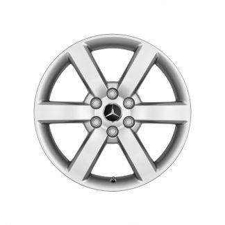 Mercedes-Benz 6-Speichen-Alufelge, X-Klasse, 17 Zoll