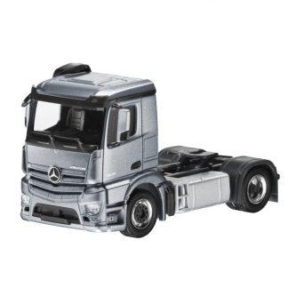 Mercedes-Benz Antos, 2-achsig, Sattelzugmaschine, mit PC-Vitrine, Modellauto, Maßstab 1:87