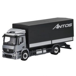 Mercedes-Benz Antos, 2-achsig, Pritsche und Plane, Modellauto, Maßstab 1:87