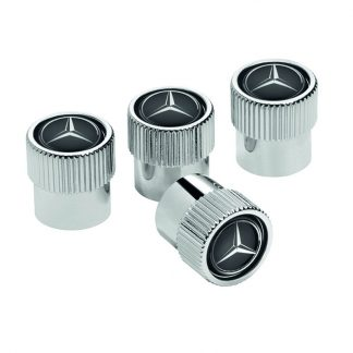 Mercedes-Benz Ventilzierkappe, Set, 4-teilig