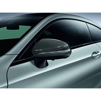 Mercedes-Benz, Außenspiegel-Cover, Carbon-Style, für diverse Modelle