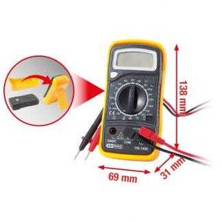 KS Tools Digital Multimeter inkl. Prüfspitzen