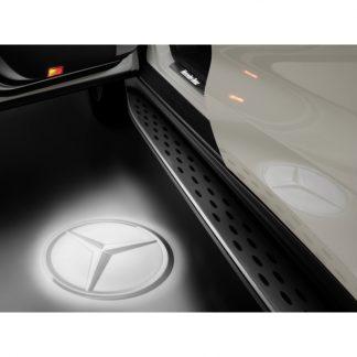 Mercedes-Benz, LED Projektor, Mercedes Stern, 2-teilig, für diverse Modelle