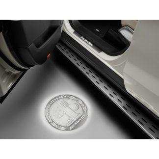 Mercedes-Benz, LED Projektor, AMG Wappen