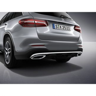 Mercedes-Benz, GLC AMG Heckschürze ohne Parkassistent, X253