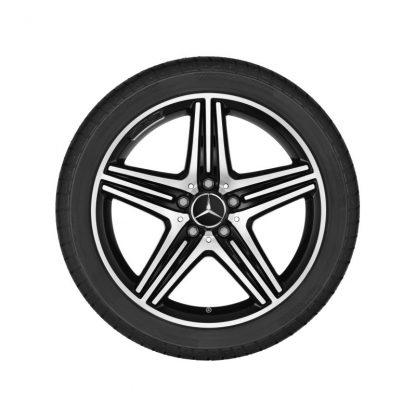 AMG Winterkompletträder Satz, CLA 250 Sport, CLA45 AMG, A250 Sport, A45 AMG, 5-Speichen Design