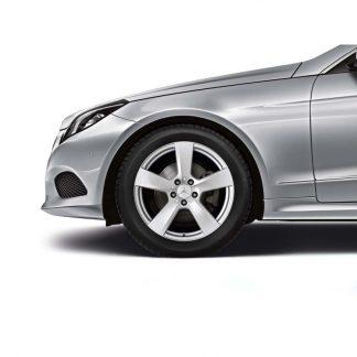 Mercedes-Benz Winterkompletträder Satz, E-Klasse A207, C207, 18 Zoll, 5-Speichen Design