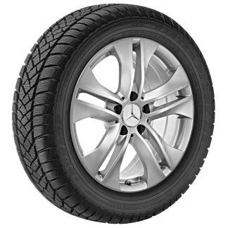 Mercedes-Benz Winterkompletträder AKTION-Satz, E-Klasse A207, C207, 17 Zoll, 5-Doppelspeichen Design