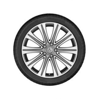 Mercedes-Benz Winterkompletträder Satz, E-Klasse, 19 Zoll, 10-Speichen Design