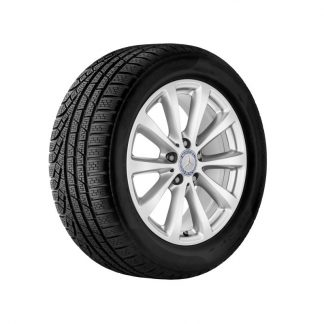 Mercedes-Benz Winterkompletträder Satz, E-Klasse, 17 Zoll, 10-Speichen Design