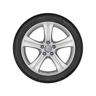 Mercedes-Benz Winterkompletträder Satz, E-Klasse, 18 Zoll, 5-Speichen Design