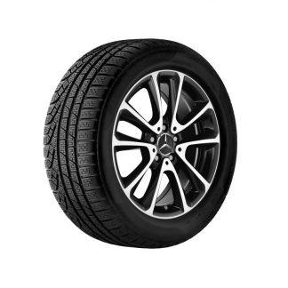 Mercedes-Benz Winterkompletträder Satz, E-Klasse, 18 Zoll, 5-Doppelspeichen Design