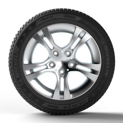 Winterreifen Michelin Alpin 5 M+S, 195/65 R15 91T