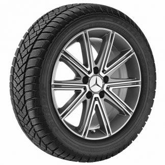 Mercedes-Benz Winterkompletträder Satz, SLK-SLC, 17 Zoll, 10-Speichen-Design