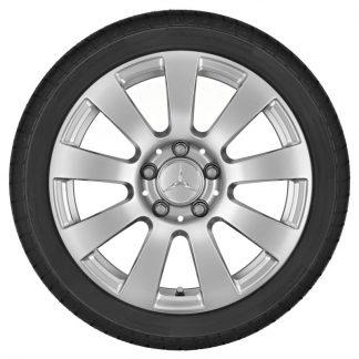 Alufelge Mercedes-Benz, E-KLasse und SLK-SLC, 16 Zoll, 9-Speichen-Design