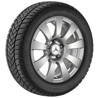 Mercedes-Benz Winterkompletträder Satz, E-Klasse, 16 Zoll, 9-Speichen Design