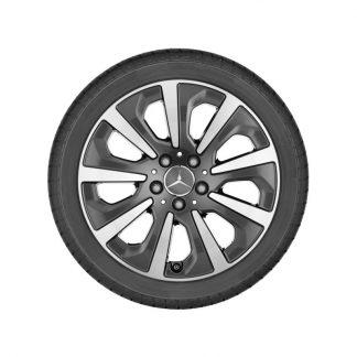 Alufelge Mercedes-Benz, S-Klasse, 9-Speichen-Design