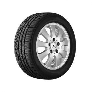 Mercedes-Benz Sommerkompletträder Satz, A-Klasse W169, 15 Zoll, 9-Speichen Design