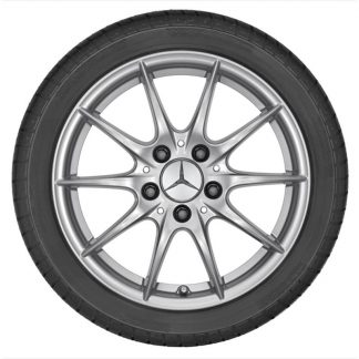 Alufelge Mercedes-Benz, A-Klasse und B-Klasse, 16 Zoll, 5-Doppelspeichen-Design