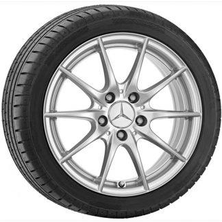 Mercedes-Benz Sommerkompletträder Satz, B-Klasse W245, 16 Zoll, 10-Speichen-Design