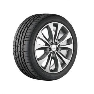 Mercedes-Benz Sommerkompletträdersatz, M-GLE Klasse, 20 Zoll 10-Speichen Design