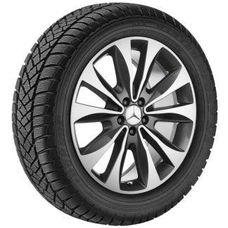 Mercedes-Benz Winterkompletträder Satz, GLE W166, 20 Zoll, 10-Speichen Design
