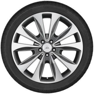 Alufelge Mercedes-Benz, GLE, 20 Zoll, 10-Speichen Design