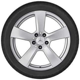Alufelge Mercedes-Benz, E-Klasse A207, C207, 18 Zoll, 5-Speichen-Design