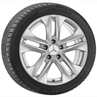 Mercedes-Benz Winterkompletträder Aktionssatz, E-Klasse S212, W212, 17 Zoll, 5-Doppelspeichen Design