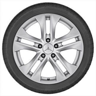 Alufelge Mercedes-Benz, E-Klasse S212, W212, 17 Zoll, 5-Doppelspeichen Design