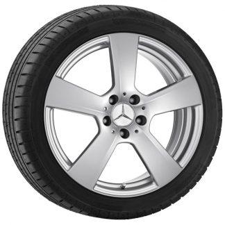 Mercedes-Benz Winterkompletträder Satz, E-Klasse S212, W212, 18 Zoll, 5-Speichen Design