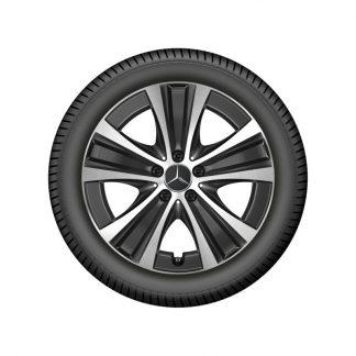 Alufelge Mercedes-Benz, E-Klasse, 18 Zoll, 5-Speichen Design