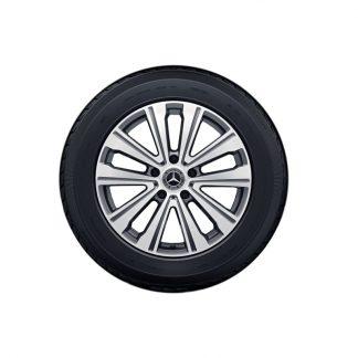 Mercedes-Benz Winterkompletträder Satz, G-Klasse W463, 19 Zoll, 5-Doppelspeichen Design