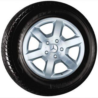Mercedes-Benz Winterkompletträder Satz, G-Klasse W463, 18 Zoll, 6-Speichen Design