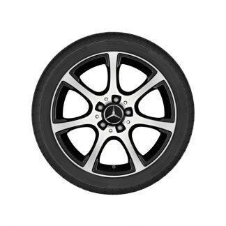 Aktions-Alufelge Mercedes-Benz C-Klasse, 17 Zoll, 7-Speichen-Design