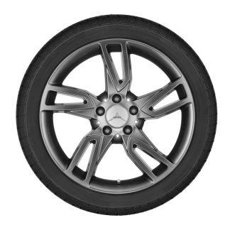 Aktions-Alufelge Mercedes-Benz C-Klasse, 18 Zoll, 5-Doppelspeichen-Design, Hinterachse