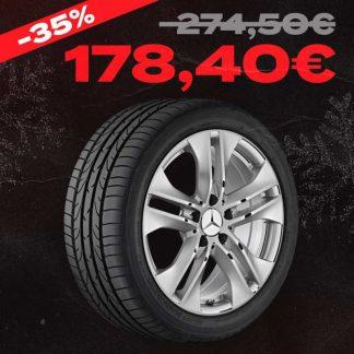 Aktions-Alufelge Mercedes-Benz, E-Klasse A207, C207, 17 Zoll, 5-Doppelspeichen-Design, Hinterachse