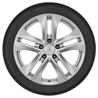 Alufelge Mercedes-Benz, E-Klasse A207, C207, 17 Zoll, 5-Doppelspeichen-Design