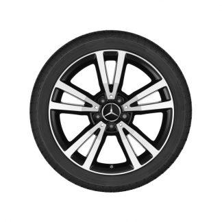 Aktions-Alufelge 18 Zoll, E-Klasse Cabrio, E-Klasse Coupé, 5-Doppelspeichen Design