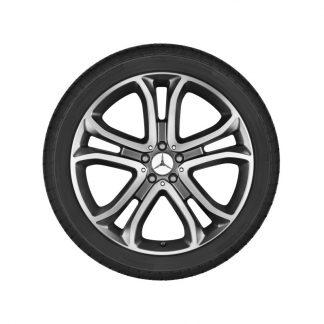 Alufelge 21 Zoll Mercedes-Benz GLE, W166, 5-Doppelspeichen Design