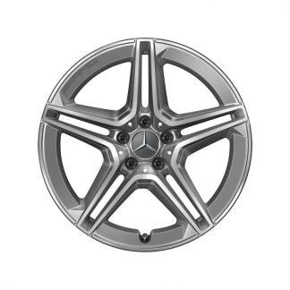 19 Zoll AMG Alufelge, GLA H247, GLB X247 5-Doppelspeichen-Design