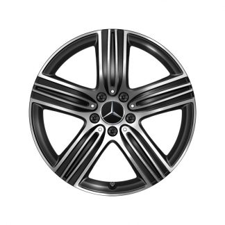 Alufelge Mercedes-Benz 18 Zoll, GLA H247, GLB X247 5-Speichen-Design, Aero optimiert