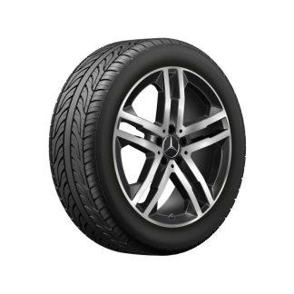 Mercedes-Benz Sommerkompletträder-Satz, GLA H247, GLB X247, 19 Zoll, 5-Doppelspeichen Design