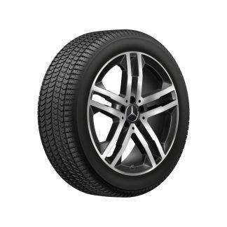Mercedes-Benz Aktions Winterkompletträder Satz, GLA H247, GLB X247, 19 Zoll, 5-Doppelspeichen Design